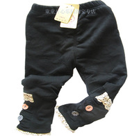 Girls Kids 2-5T Winter Clothes Pants/trousers children's pants warm thick clothing baby casual/skinny pants long trousers