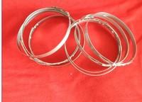single ear stepless hose clamp