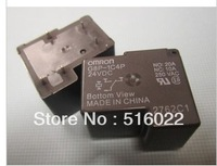 Japanese omron power relay 30 a 5 -pin 1 c conversion contact 12 v relay G8P - 1C4p-24 VDC