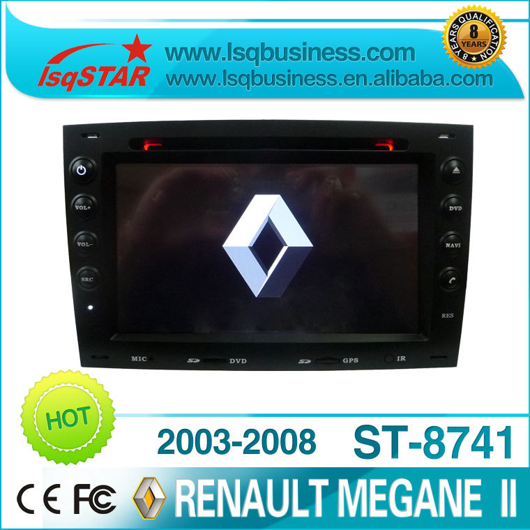 cheap car audio for Renault Megane II with gps/can-bus/AM/FM/video/BT/ipod(China (Mainland))