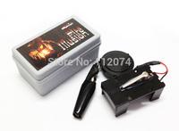 Electronic Fire Ball Launcher Free shipping Whosale magic,paper mache mask,magic tricks,fire,props,dice magic,comedy