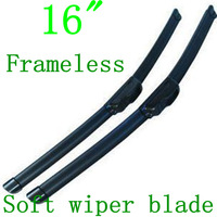 Alibaba express Universal type Auto Car Frameless Wiper Windscreen Wiper Blades 16""