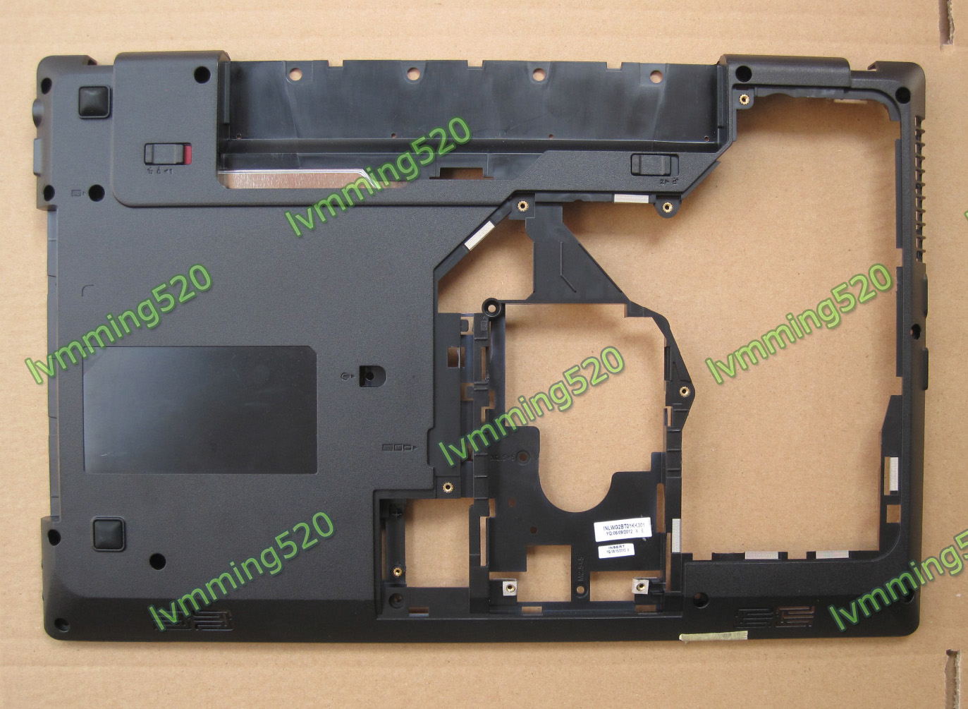 Lenovo g570, g575 base shell, top, panel, keyboard, buttom covers and hinges(China (Mainland))