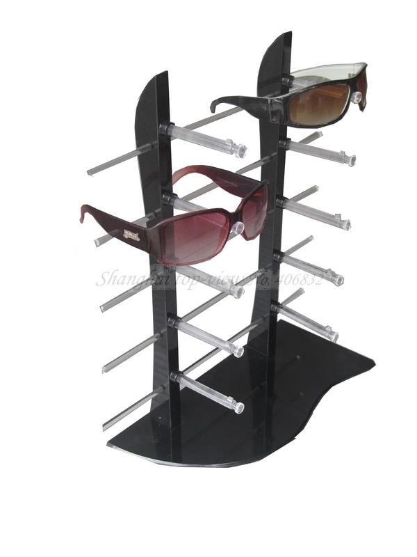 Y007-1 Acrylic/ / Plastic Reading Glasses Display Stand Rack , Shelf, Eyewear Rod Board(China (Mainland))