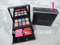 New makeup collection 8 Color Eye shadow Eyeshadow&4 Colors lipbalm /lipgloss 24.3g(10pcs/lot)free china post air mail shipping