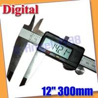 "New 12"" 300mm Digital LCD CALIPER VERNIER GAUGE MICROMETER with box"