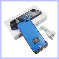 High quality 2200mAh external battery charger case for iphone5 5