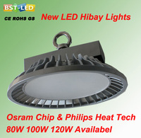 Newest manufacturing process Guaranteed 100% quality USA Bridgelux chip,led high bay light 80w