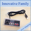 Free shipping new arrival high quality   NES Nintendo PC USB Controller Joypad Joystick Brand New poly bag 5pcs/lot