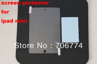New  Front Clear LCD Screen Sticker Protector Film Guard for Apple iPad Mini New +Cloth Free Shipping 5pcs/lot
