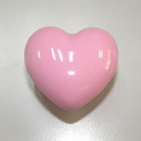 20Pcs pink love heart ceramic knob porcelain furniture cartoon konb