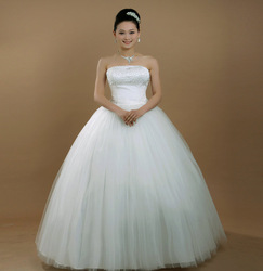 2012 wedding food the bride wedding dress fashion tube top 0 - 29(China (Mainland))