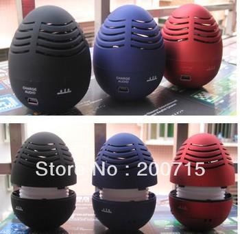 Wholesale - 10pcs/lots,Easter Egg Tumbler Speaker Hi-Fi,sound box,loudspeaker,amplifier!