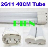 CE&ROHS Approval 18W 40cm 2G11 SMD 160 LED Tube Light  Fluorescent 400mm Bar Lamp Cool Warm White 200V-240V Free Ship  1pcs/lot