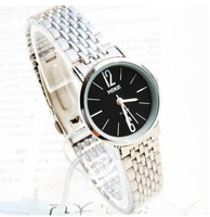 Freeshipping TOPquality  Ultrathin  quartz steel women watch  154264,Xmas gift