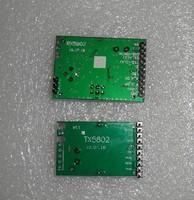 5.8G wireless video module RX5802+TX5802 Integrated  VCO, PLL, broadband FM video demodulation, FM sound demodulation function