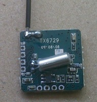 2.4 G small volume low power consumption of wireless transmission module/wireless video transmitting module TX6729