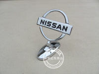 Car Bonnet Emblem Badges for Nissan Front Hood Metal Logo Luxury 30pcs/lot  free shipping