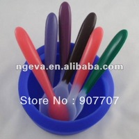 hottest fashion silicone soft baby spoons