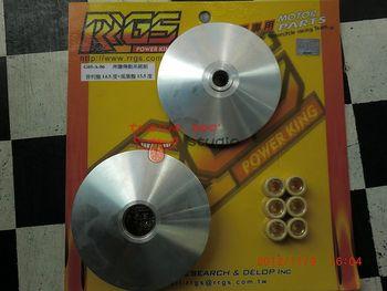 台湾rrgsジョッキーバリエータの速度制御用gy6125ccクラス、 200cc14.5度