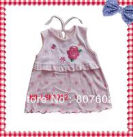 light  pink  love  hearts  cotton  skirt,  fancy  love  hearts  cotton  skirt
