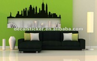 Free Shipping Vinyl Decal New York Silhouette