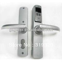 Silver color fingerprint lock hotel lock safe lock ADEL5500 with 4 in 1( fingerprint+card+pin+key)
