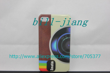 Wholesale Hot Sale Cool Camera Insta Instagram Hard Back Case for iphone 4 4S 4TH 4G 10pcs/lot china post