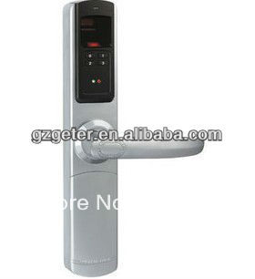 Biometric fingerprint door lock home lock hotel lock with 3 in 1(fingerprint, pin, key) ADEL5500(China (Mainland))