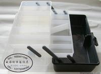 free shipping 1pcs Lure suitcase 30*18*15cm transparent plastic tool box fishing tackle box storage box Fishing gear