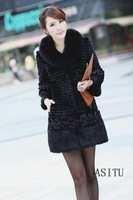Women 's  long down clothing excellent quality coat thick coat down jacket women FREE shipping
