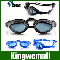 Free shipping DEX Brand ,2color Adjustable swimming Goggles glasses Anti-UV eyewear Waterproof Anti-fog gift ear plugs 2000AF