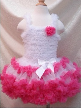 2013 Fashion beautiful girls tutu dress ballet costume dance clothes kids party tutu children's christmas dress age for 1~8years