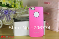 New Design Cheap Pink Air Jacket Metallic Aluminum Hard Case for iPhone 5 5S Free Shipping
