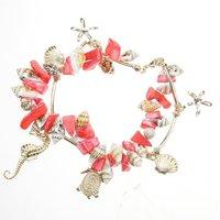 SP177 Lovely Girl's So Many Marine Animal Decorative Bracelet Free shipping wholesale drop shipping