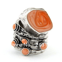 fashion personalized ring punk style fashion vintage big enamel european ring,free shipping