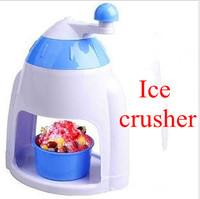 Household manual ice crusher, high quality Kitchen utensils, Ice salad making machine + free shipping
