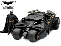 Free delivery! The Dark Knight BATMAN BATMOBILE Tumbler BLACK CAR Vehecle Toys With Figure