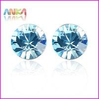 2014 New Pendientes Brinco Earrings For Women Gift! Women Crystal Earrings Make With Austria Elements Diameter 0.55cm #82321