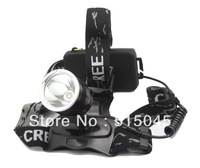 Лампа для головы Camping Night Outdoor High Power 3pcs / lot Zoom 3 Mode LED HeadLight Headlamp