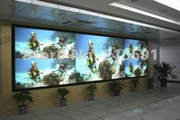 Low price rear projection  film for advertising  shopping window, bank, airport, free DHL/FEDEX/EMS shipping