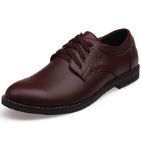 2012 commercial genuine  breathable  single  fashion male casual shoes leather