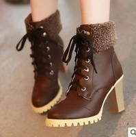 Женские ботинки # WS8814