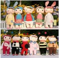 Genniue Metoo pretty Angela 11 plush dolls set, Children's playmate toy, kids birthday gift + free shipping