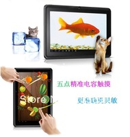 Free Shipping  Newest model Allwinner A13 1.2Ghz 7 inch Android 4 0 Tablet PC Capacitive Screen 512M DDR3 RAM 8GB Camera WIFI