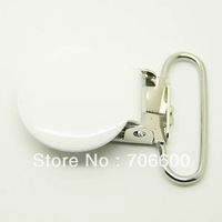 100pcs per lot,round type suspender clip in white color,wholesale Suspender Clip,Suspender Clips Suppliers & Manufacturers