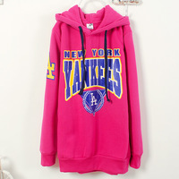2013 Autumn and winter Women hoodie sweater in Korea ladies hoodies Sweatshirts hooded basketball sports shirt
