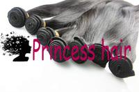 "Wholesale 12""-30"" 1kg=10pcs Virgin Brazilian Hair Extensions Straight human hair Factory Price 95-100g/pc"