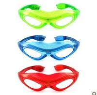 The June 1 children's day supplies decoration property luminous glasses spider-man LED flash glasses