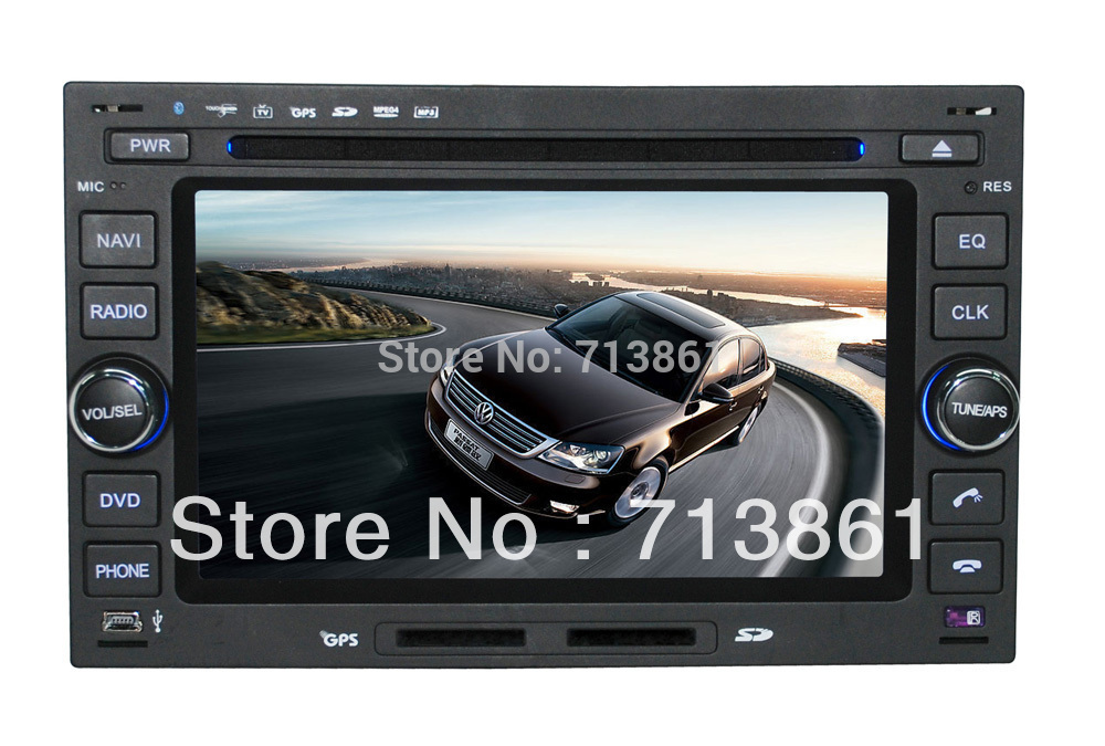 free shipping 6.2inch digital touch screen Car 2 Din DVD player for VW PASSAT/POLO/GOLF2007 2008/JETTA(China (Mainland))